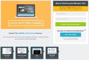 Clickfunnels Bridge Page Casio